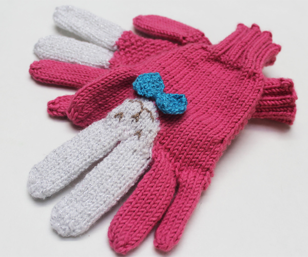How to Make Bunny Gloves